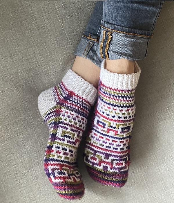 Ramble Socks, di Yvonne Choi