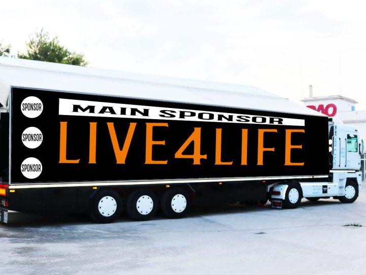 Live4Life, lo spettacolo arriva sotto casa