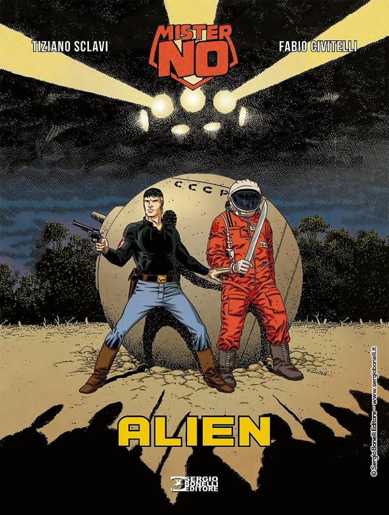 Mister No. Alien Sclavi cover