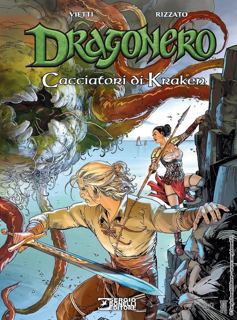 Arrivano i cacciatori di Kraken in edicola e libreria per Bonelli