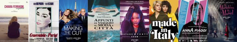 Amazon Prime Video celebra la Fashion Week con una serie di contenuti a tema
