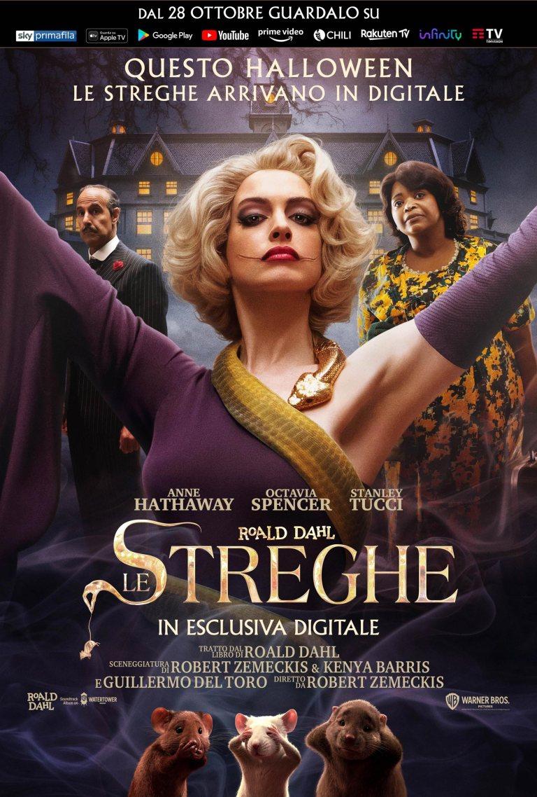 """""""Le Streghe"""", un classico per ragazzi diventato anche un film con Anne Hathaway"""