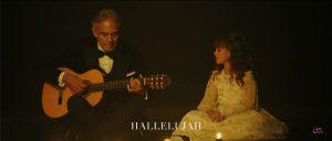 "Andrea Bocelli canta ""Hallelujah"" con la figlia Virginia"