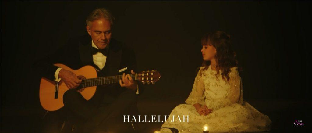 Andrea Bocelli canta Hallelujah con Virginia