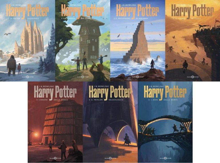 Harry Potter, nuova edizione con le copertine di Michele De Lucchi