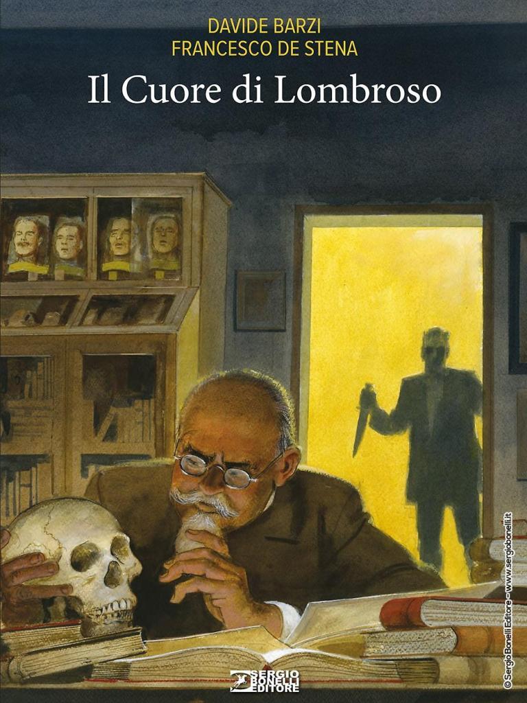 Il Cuore di Lombroso, un racconto noir da Sergio Bonelli editore