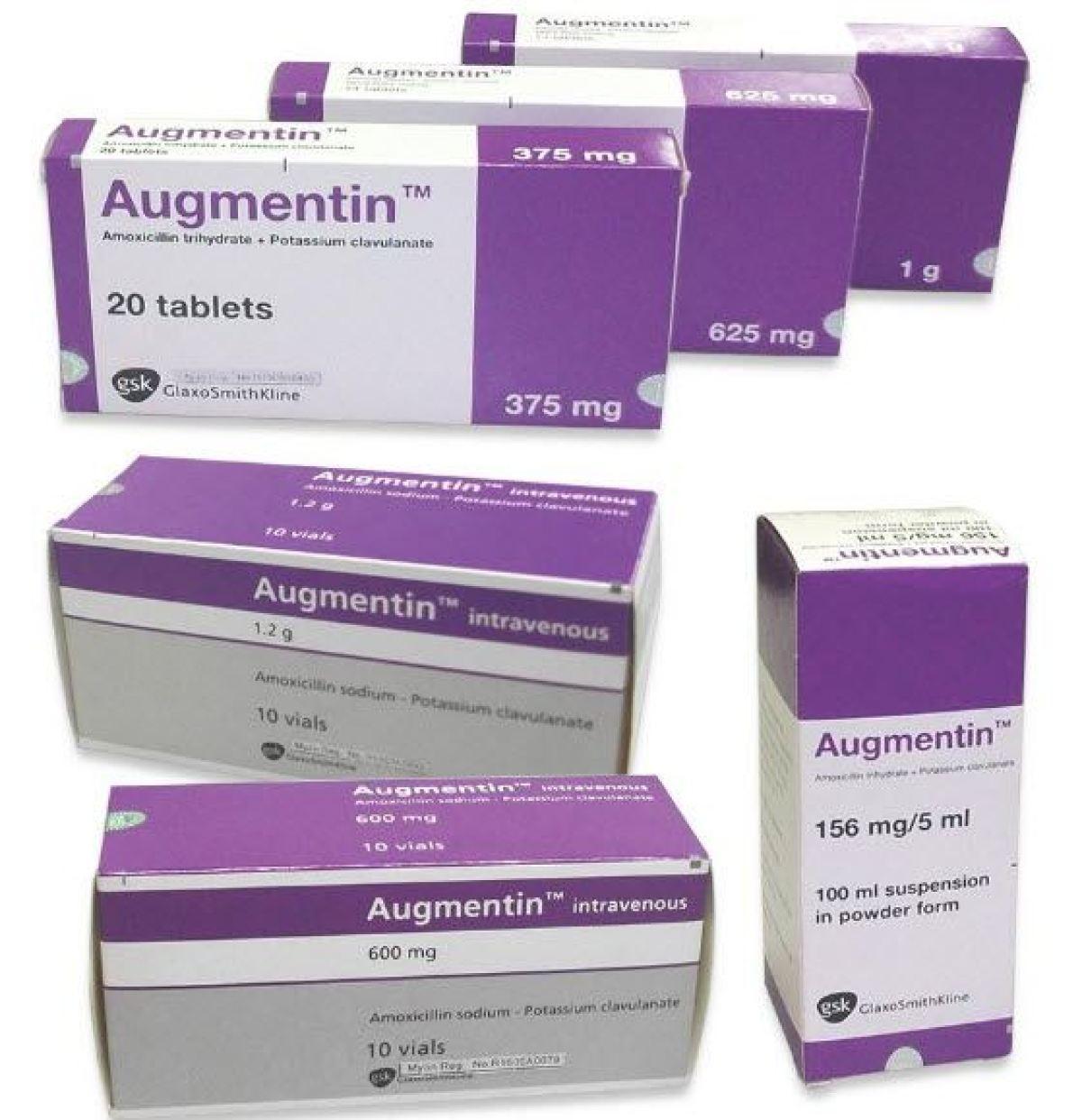 معلومات عن اوجمنتين Augmentin مضاد حيوي واسع المجال مجلتك