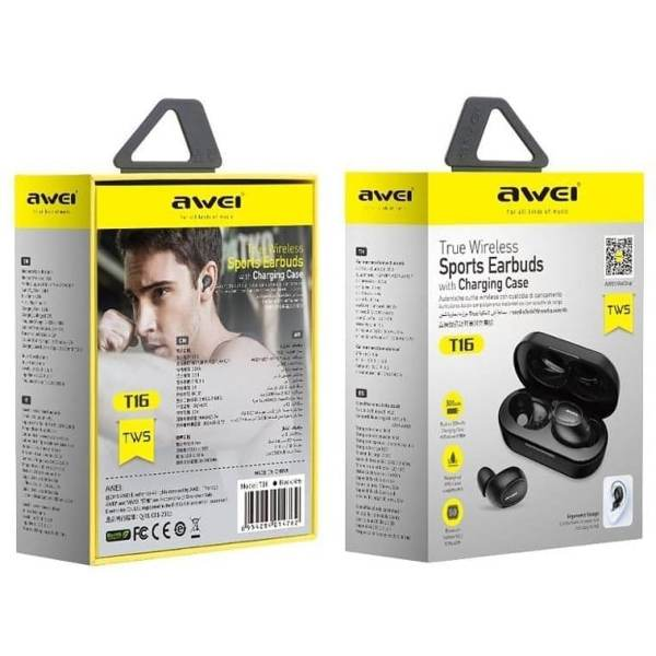 Awei T6 Mini écouteurs stéréo Bluetooth Earbuds