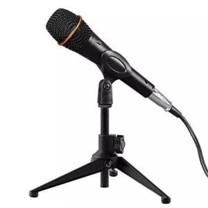 Support trépied de microphone pour bureau