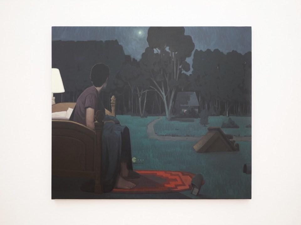 3 a.m. Bezt Etam Cru painting Magma gallery