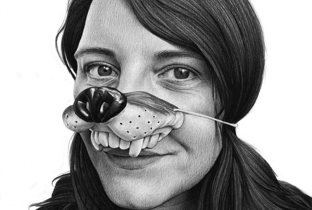 Estelle Amandine Urruty graphite charcoal paper Magma gallery