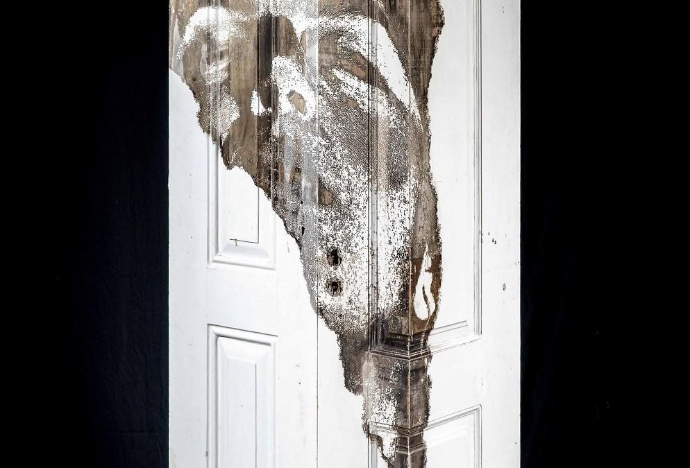 Portal #13 Vhils sculpture solo show Magma gallery