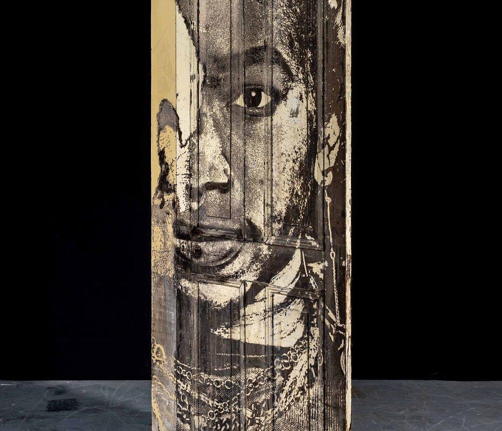 Portal #1 Vhils sculpture solo show Magma gallery