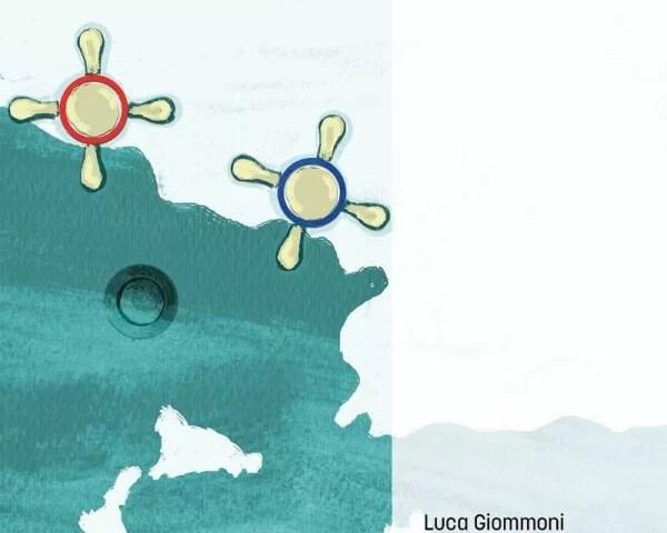 «Il rosso e il blu» di Luca Giommoni