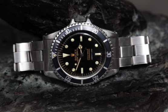 Rolex 5512, pointed crownguards, underline and Serpico Y Laino