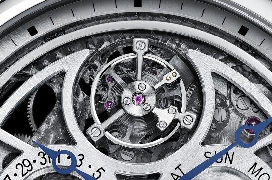 Montre Rotonde de Cartier Grande Complication Squelette - Tourbillon volant