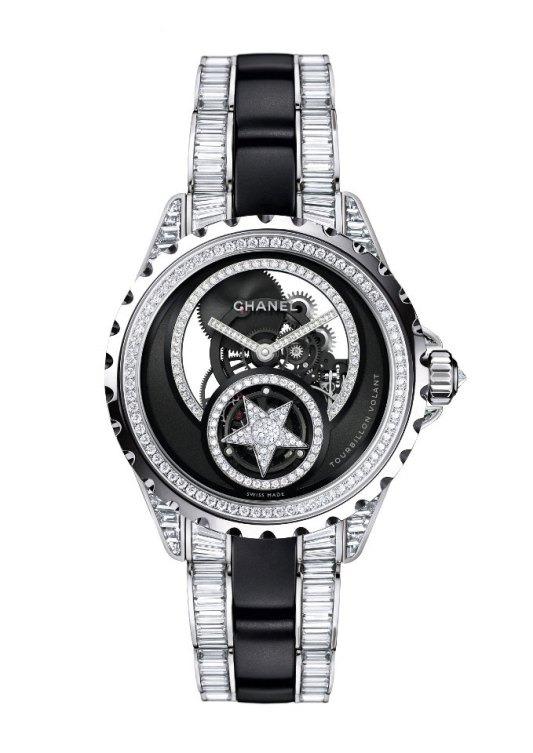 "Chanel J12 ""Comète"" skeleton"