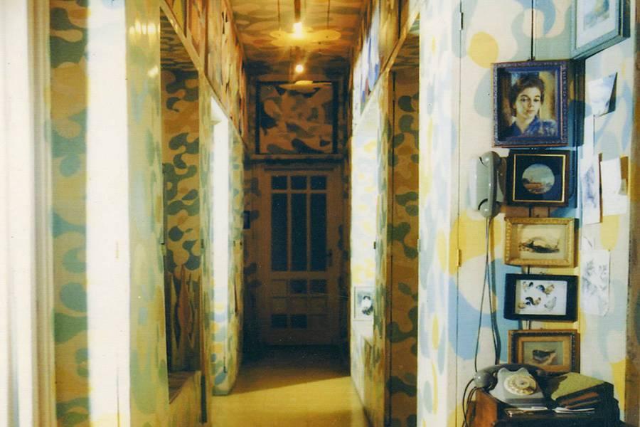 Casa Balla, Il corridoio