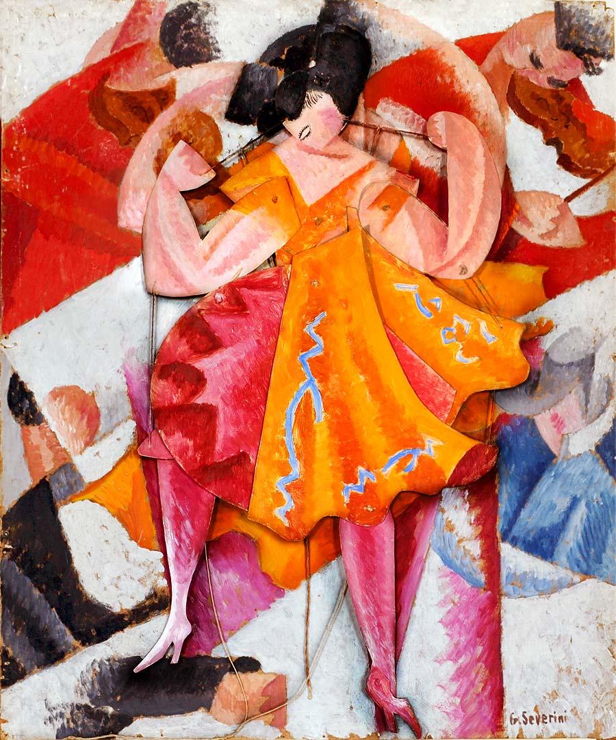Gino Severini Danseuse articulée 1915