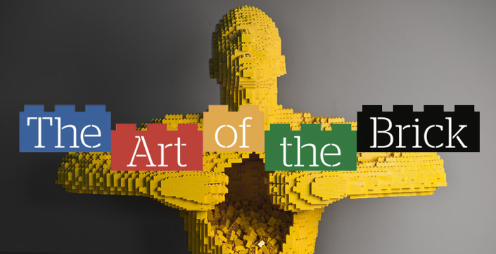 The Art of The Brick: i LEGO diventano arte