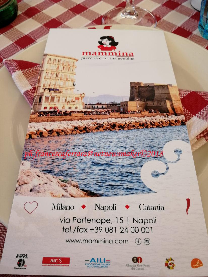MAMMINA presenta il menù estivo ispirato al Golfo di Napoli