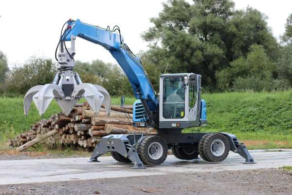 Successful trial of Magna MA608 Super Solid on Terex Fuchs ...