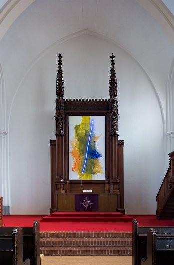 Klaus Killisch, Glaube.Liebe.Revolution. 2020, Paul-Gerhardt-Kirche, Berlin-Prenzlauer Berg