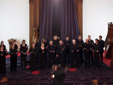 Katharina Grosse, Gebete erfinden, 2014, Konzert