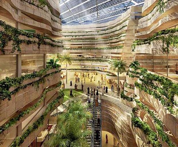 A tan solo 17 kilometros de Abu Dabi, el estudio Foster & Partners espera construir una de las ciudades más respetuosas con el medio ambiente, se llamará Masdar. La gran urbe será capaz de hospedar hasta 40.000 personas y funcionará unicamente con energías renovables.