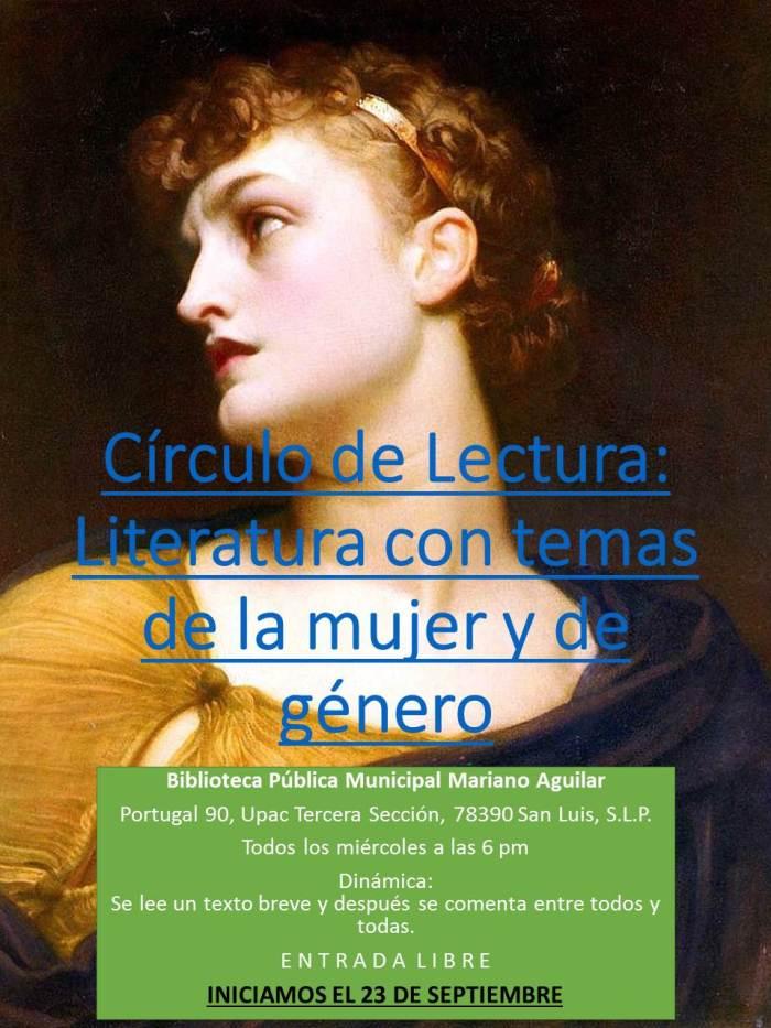 Círculo de Lectura. Mariano Aguilar