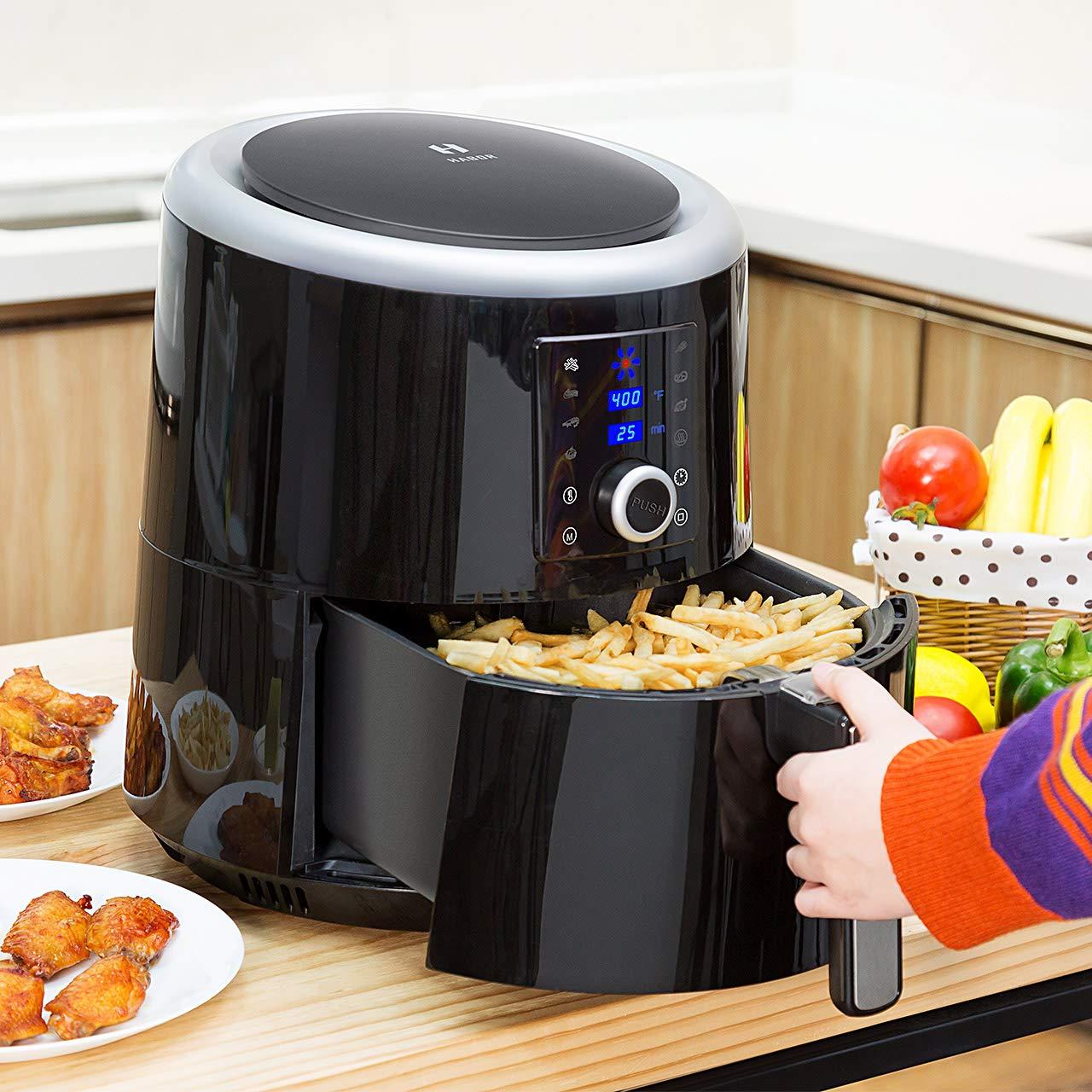 Habor Oilless Air Fryer 58 QT Vs 37 QT Vs 38 QT
