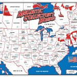 United States Map Magnets.State Magnet Collectors Map And Rack Magnetic Souvenirs
