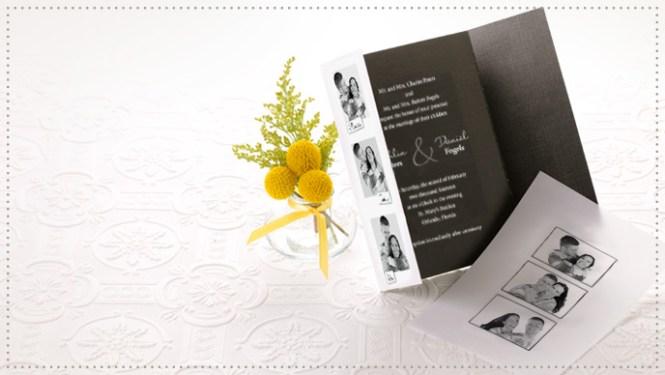 Gate Fold Wedding Invitations