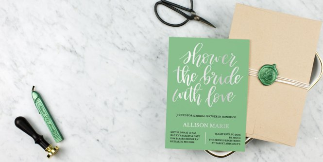 Bridal Shower Invitations Personalized Wedding Invites