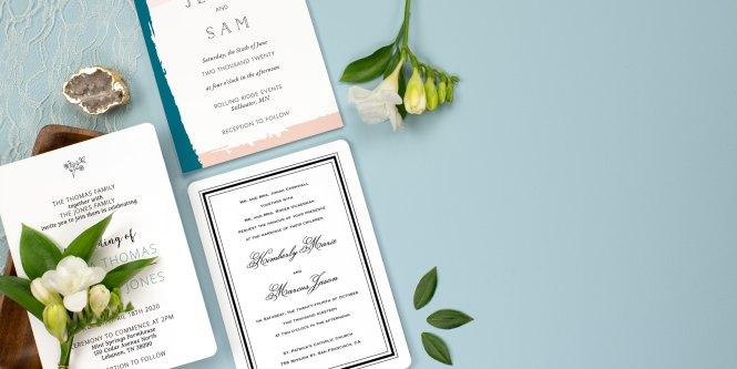 Wedding Invitations 100 Free Custom Samples