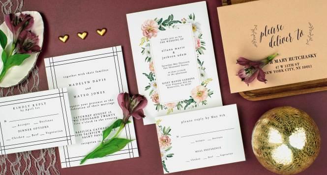 Custom Wedding Invitations Unique