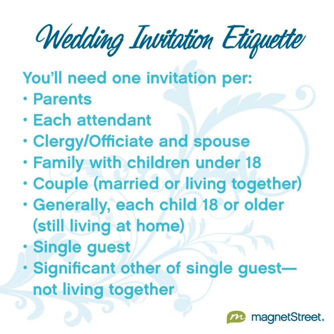 Wedding Invite Etiquette Will Give You Ideas How To Make Divine Invitation 8