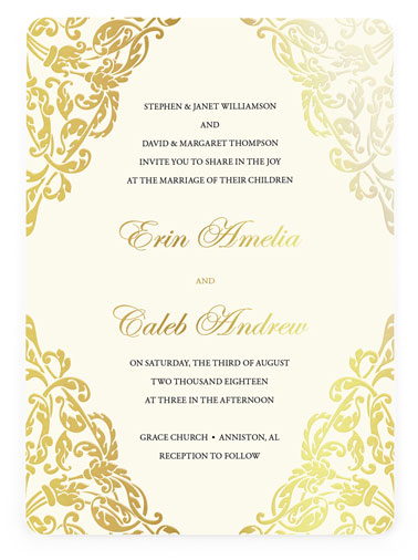 Wedding Invitations 100 Free Custom Samples