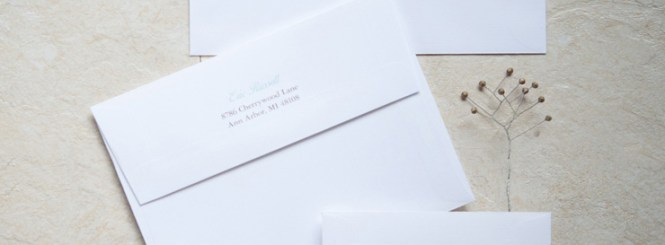 Return Address Wedding Etiquette