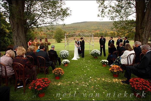 Fall Weddings Outside