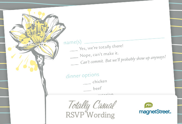Rsvp Wedding Wordingtruly Ening Wording Casual Pacfilefo Image Collections