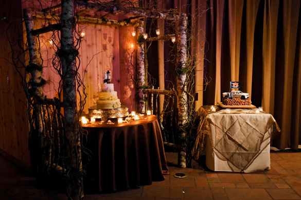 Winter Destination Wedding With Candleight CeremonyWinter