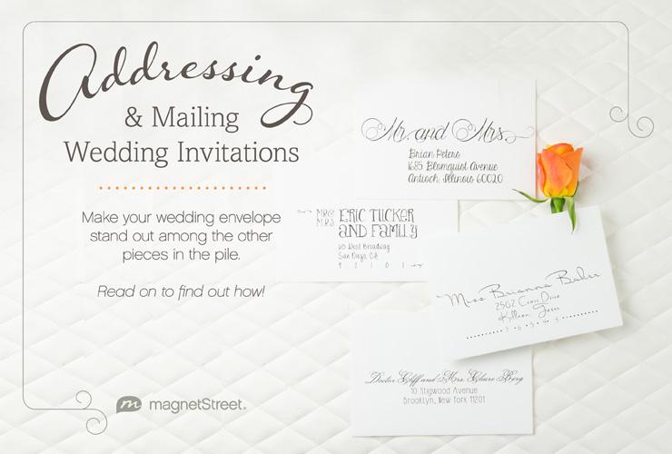 Addressing Wedding Invitations How To Etiquette