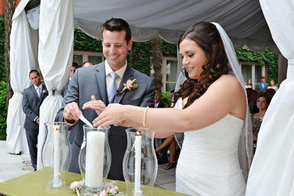 intimate elegant mansion wedding