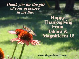 Happy Thanksgiving from Bestselling Author Debbie Takara Shelor