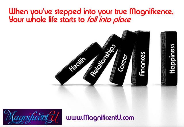 When you shift, your life shifts