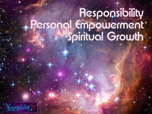 Responsibility Personal Empowerment Spiritual Growth