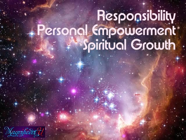 Responsibility Personal Empowerment Spiritual Growth