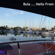 Bula Hello From Fiji South Pacific On a Yacht