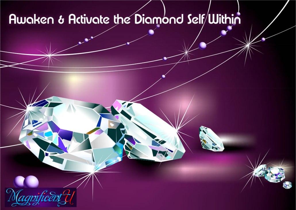 Awaken Activate Diamond Higher Self Within